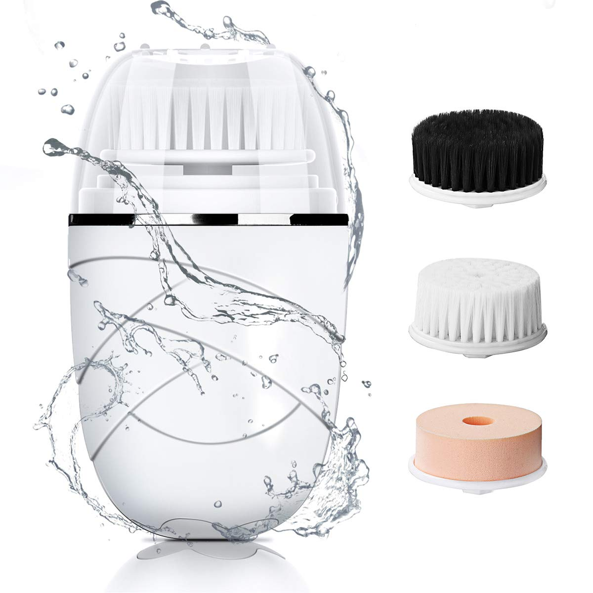3 in 1 Spin facial cleansing brush